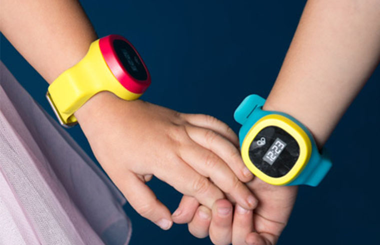 First GPS watch for kids